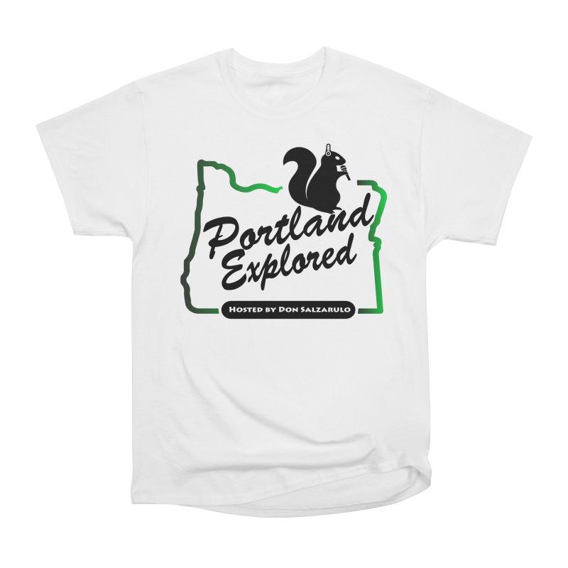 PDXPLRD Men's Heavyweight T-Shirt by SixSqrlStore