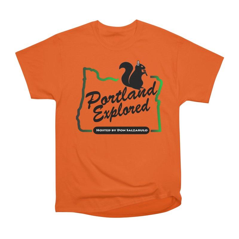 PDXPLRD Women's Heavyweight Unisex T-Shirt by SixSqrlStore