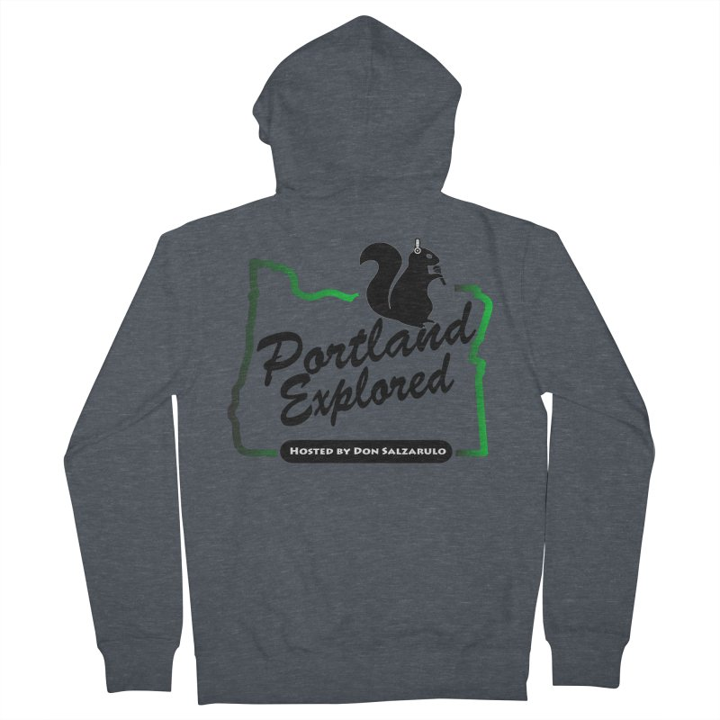 PDXPLRD Women's French Terry Zip-Up Hoody by SixSqrlStore
