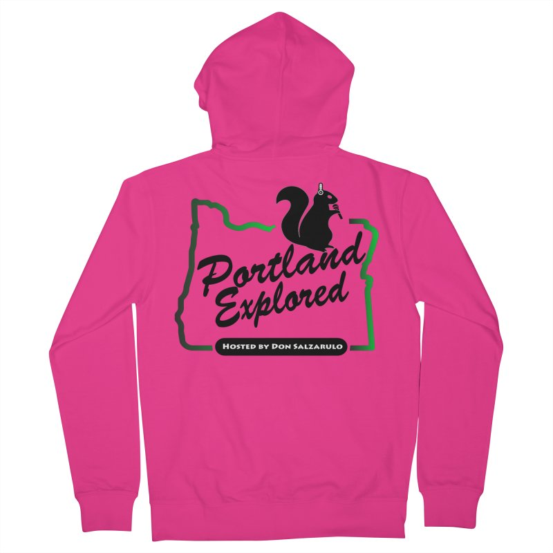PDXPLRD Men's French Terry Zip-Up Hoody by SixSqrlStore
