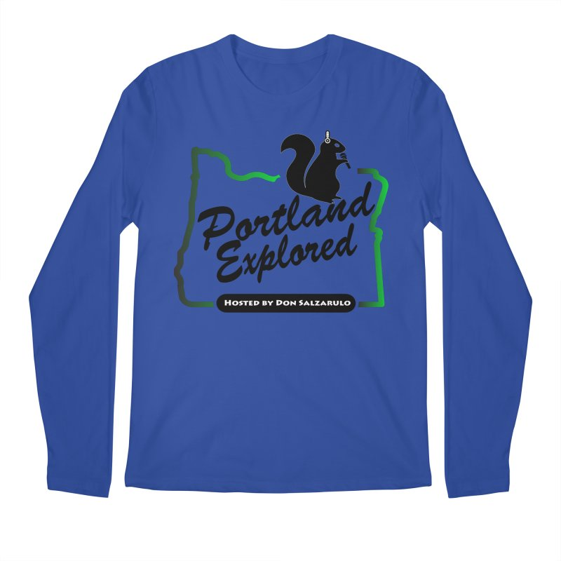 PDXPLRD Men's Regular Longsleeve T-Shirt by SixSqrlStore