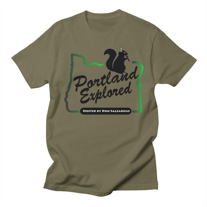 PDXPLRD Men's Regular T-Shirt by SixSqrlStore