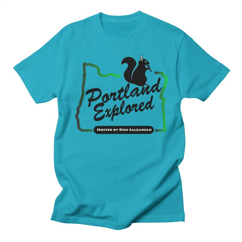 PDXPLRD Men's Regular T-Shirt by SixSqrlStore