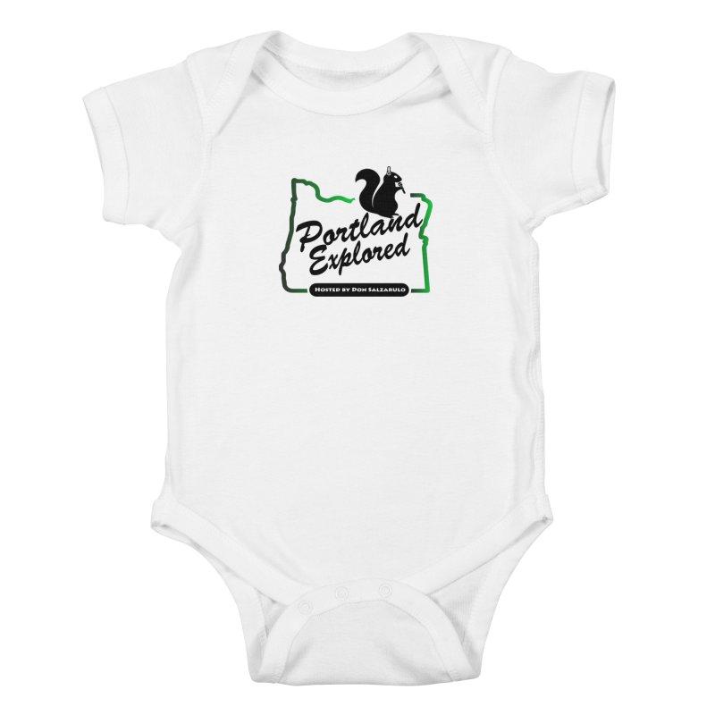 PDXPLRD Kids Baby Bodysuit by SixSqrlStore