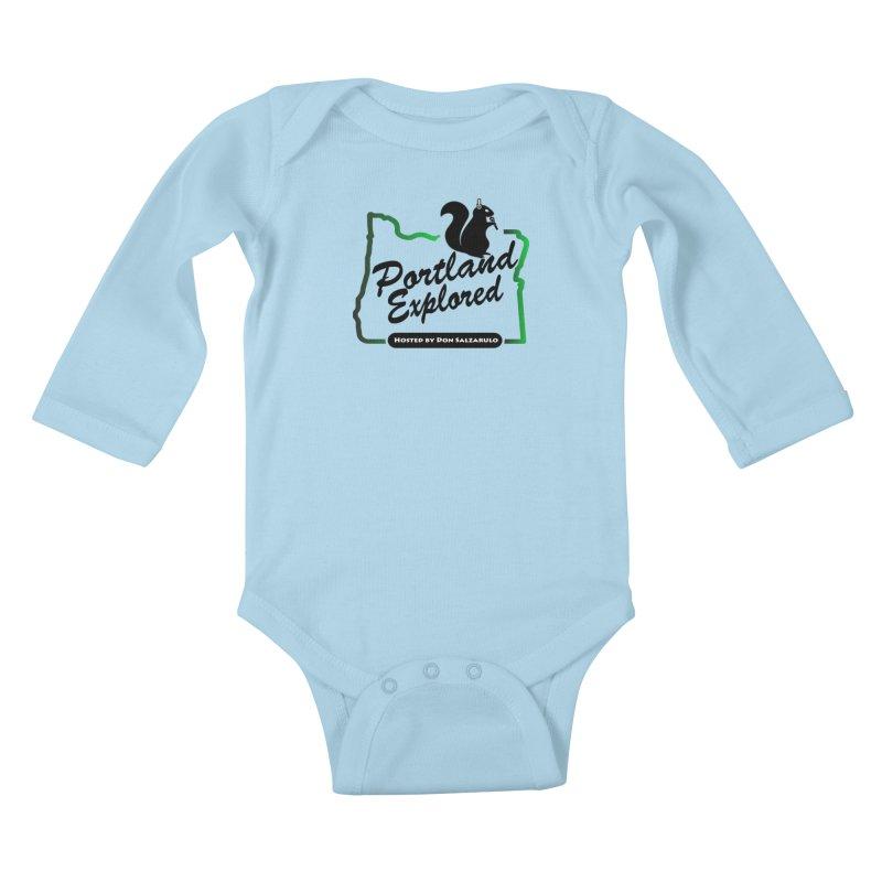 PDXPLRD Kids Baby Longsleeve Bodysuit by SixSqrlStore