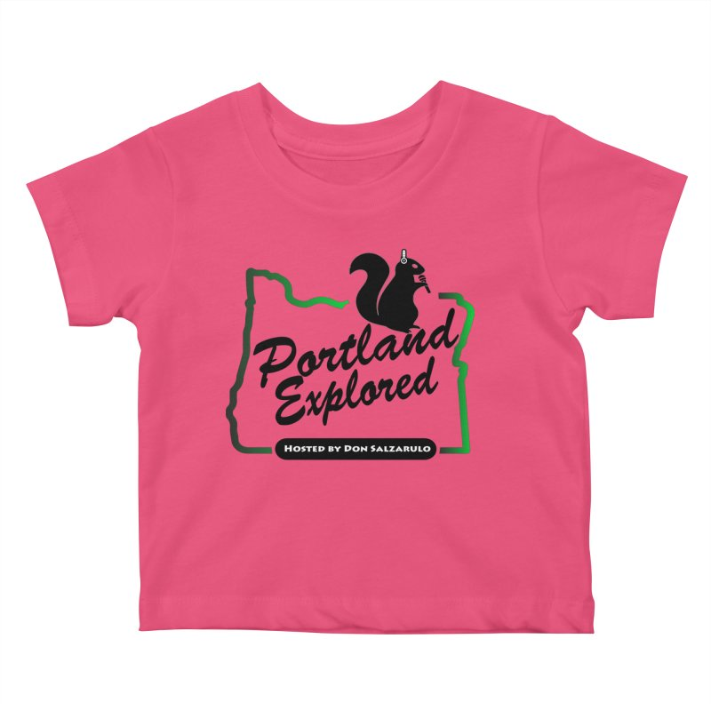 PDXPLRD Kids Baby T-Shirt by SixSqrlStore
