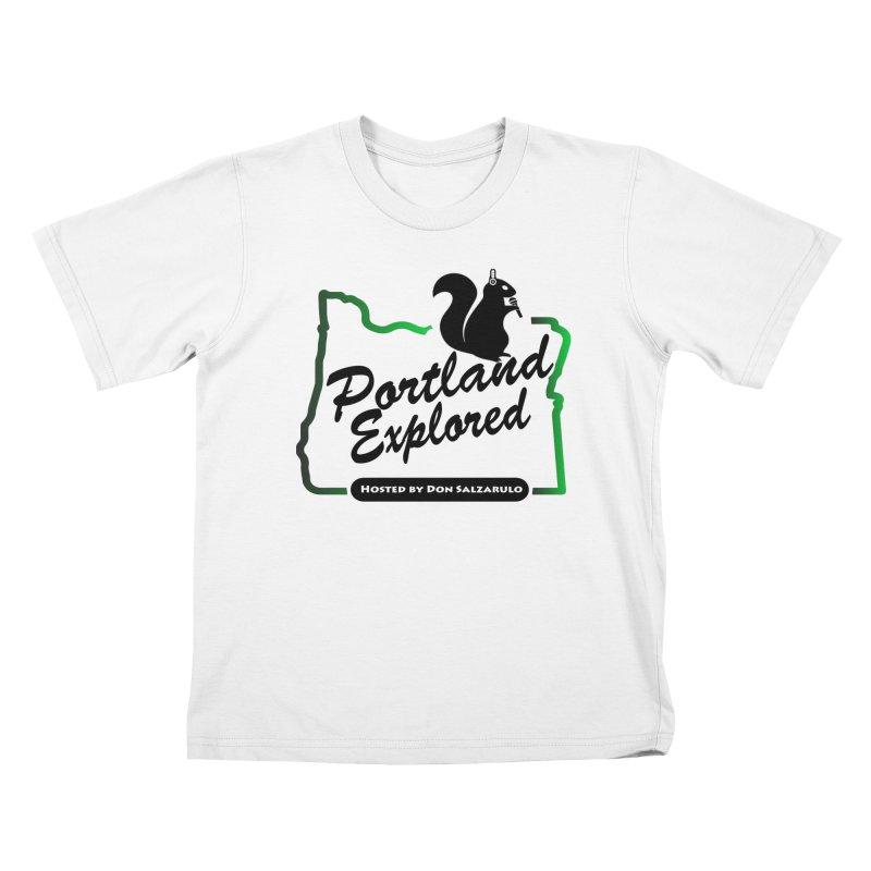 PDXPLRD Kids T-Shirt by SixSqrlStore