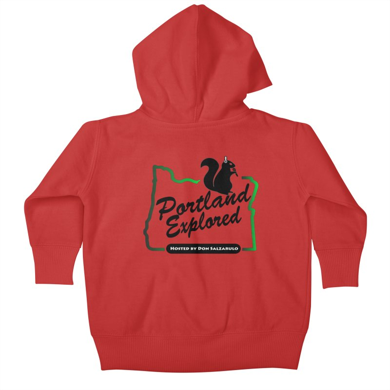 PDXPLRD Kids Baby Zip-Up Hoody by SixSqrlStore