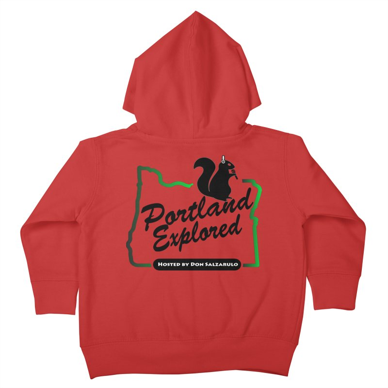 PDXPLRD Kids Toddler Zip-Up Hoody by SixSqrlStore