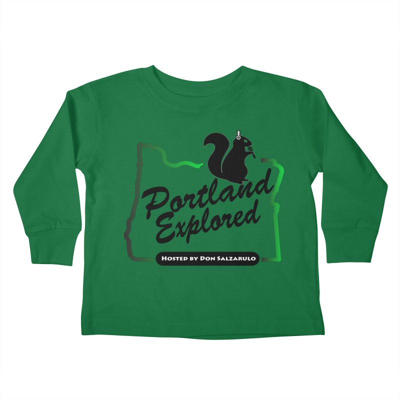 PDXPLRD Kids Toddler Longsleeve T-Shirt by SixSqrlStore