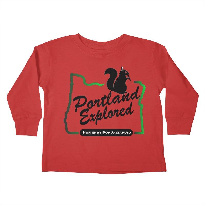 PDXPLRD Kids Toddler Longsleeve T-Shirt by SixSqrlStore