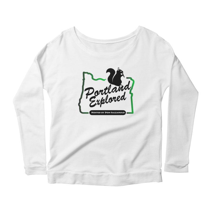 PDXPLRD Women's Scoop Neck Longsleeve T-Shirt by SixSqrlStore