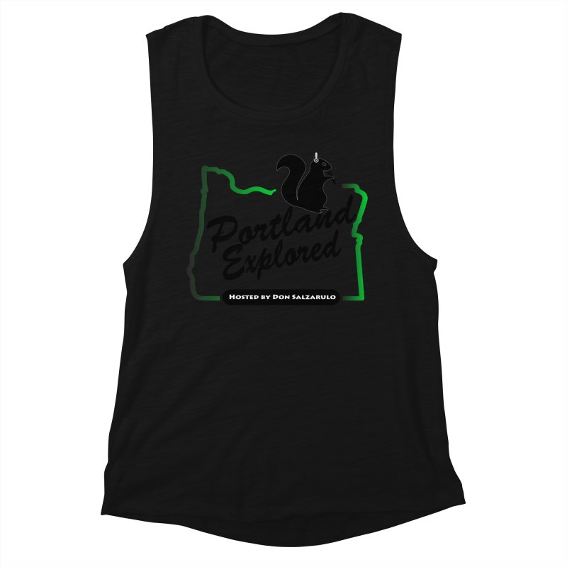 PDXPLRD Women's Muscle Tank by SixSqrlStore