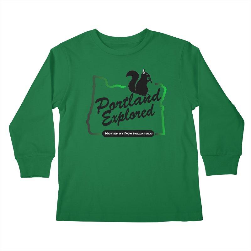 PDXPLRD Kids Longsleeve T-Shirt by SixSqrlStore