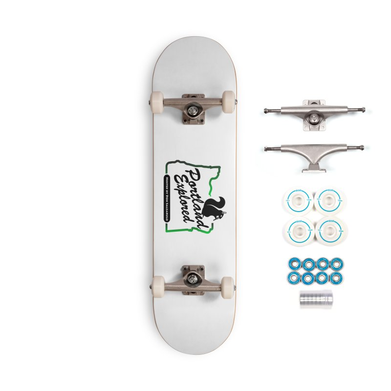 PDXPLRD Accessories Complete - Basic Skateboard by SixSqrlStore