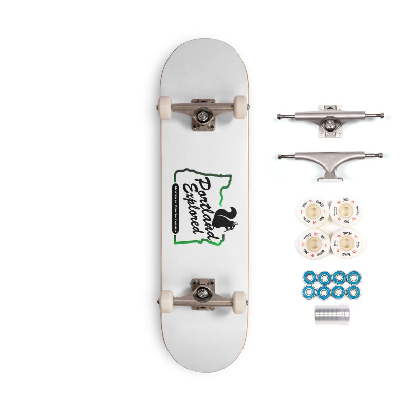 PDXPLRD Accessories Complete - Premium Skateboard by SixSqrlStore