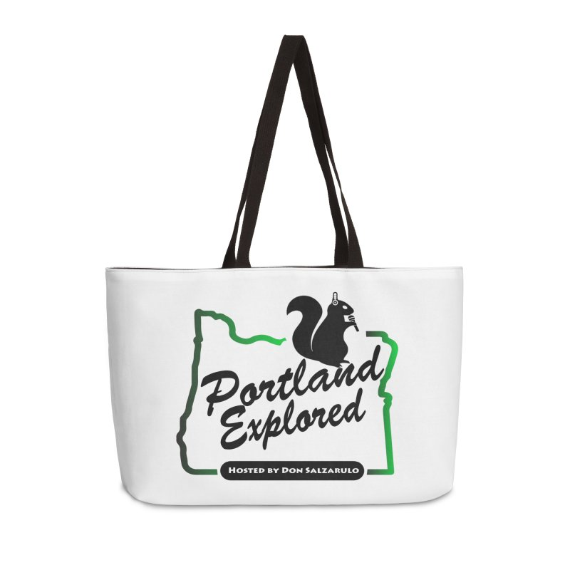 PDXPLRD Accessories Weekender Bag Bag by SixSqrlStore