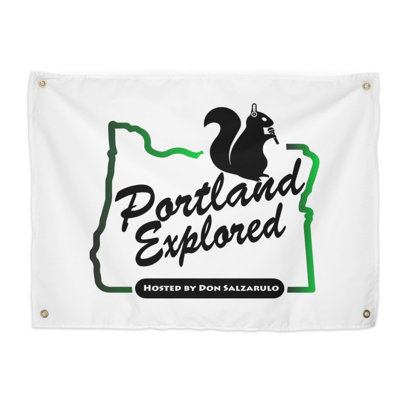 PDXPLRD Home Tapestry by SixSqrlStore