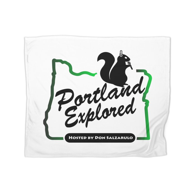 PDXPLRD Home Fleece Blanket Blanket by SixSqrlStore