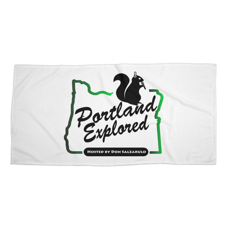 PDXPLRD Accessories Beach Towel by SixSqrlStore