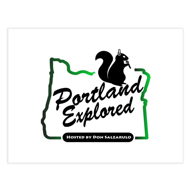 PDXPLRD Home Fine Art Print by SixSqrlStore