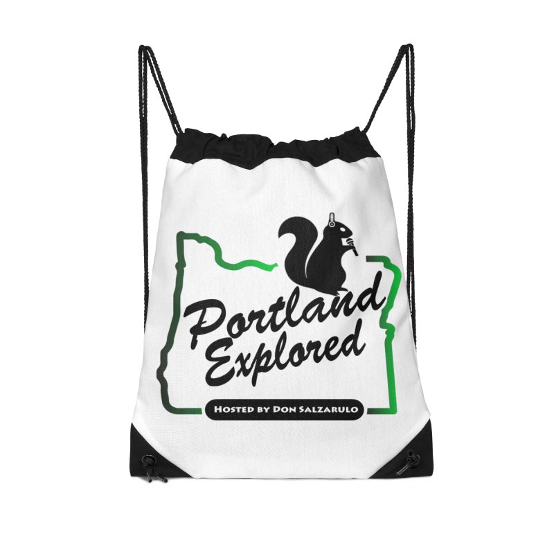 PDXPLRD Accessories Drawstring Bag Bag by SixSqrlStore