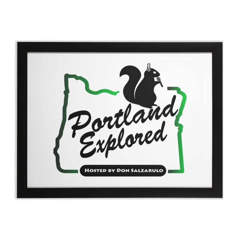 PDXPLRD Home Framed Fine Art Print by SixSqrlStore