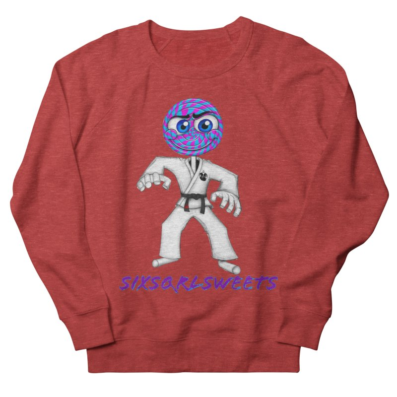GrappleSweets Men's French Terry Sweatshirt by SixSqrlStore