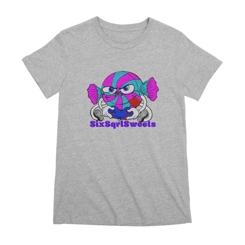 Classic Sweets Logo Women's Premium T-Shirt by SixSqrlStore