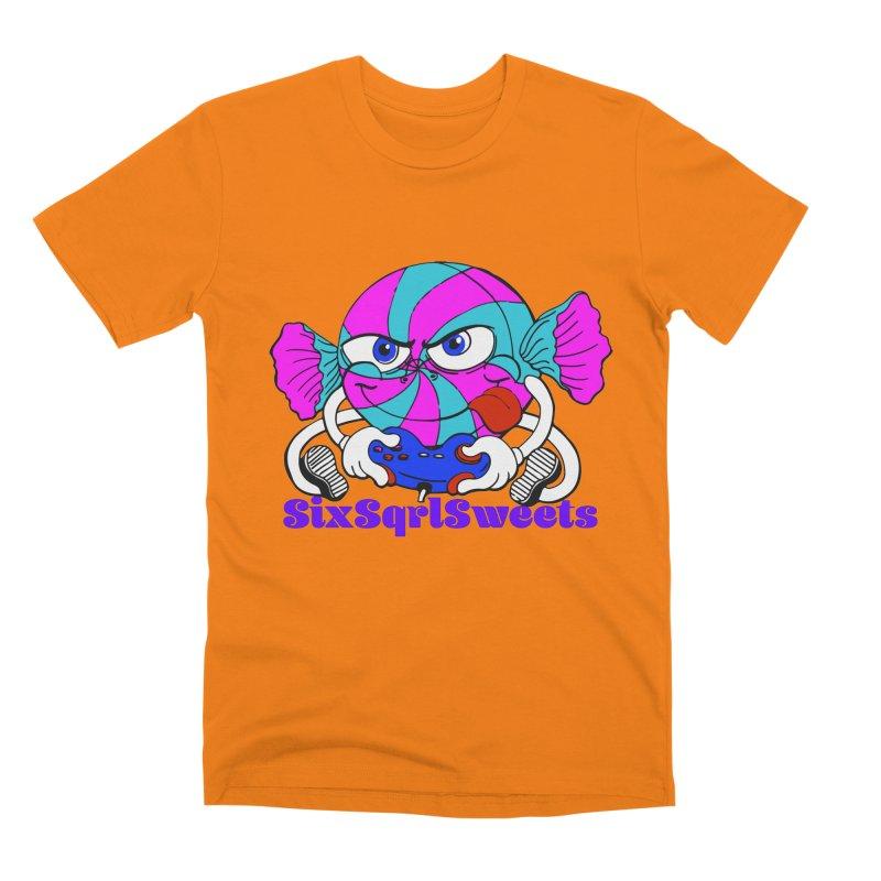 Classic Sweets Logo Men's Premium T-Shirt by SixSqrlStore