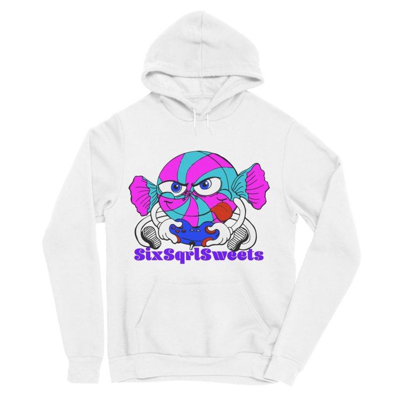 Classic Sweets Logo Women's Sponge Fleece Pullover Hoody by SixSqrlStore