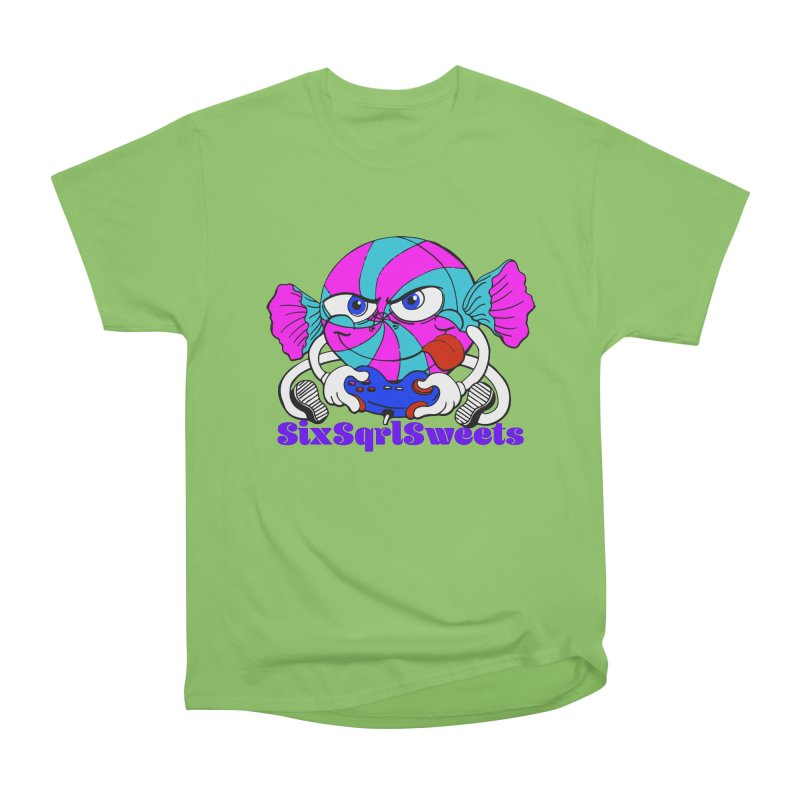 Classic Sweets Logo Women's Heavyweight Unisex T-Shirt by SixSqrlStore