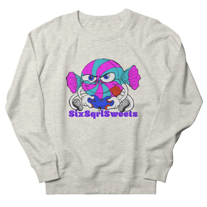 Classic Sweets Logo Women's French Terry Sweatshirt by SixSqrlStore