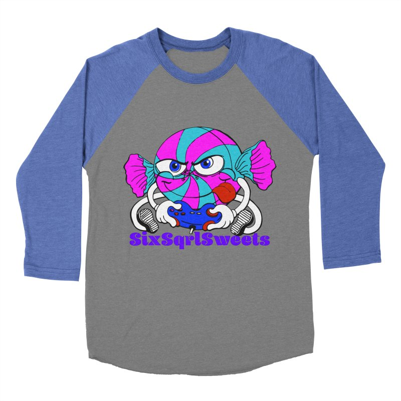 Classic Sweets Logo Men's Baseball Triblend Longsleeve T-Shirt by SixSqrlStore