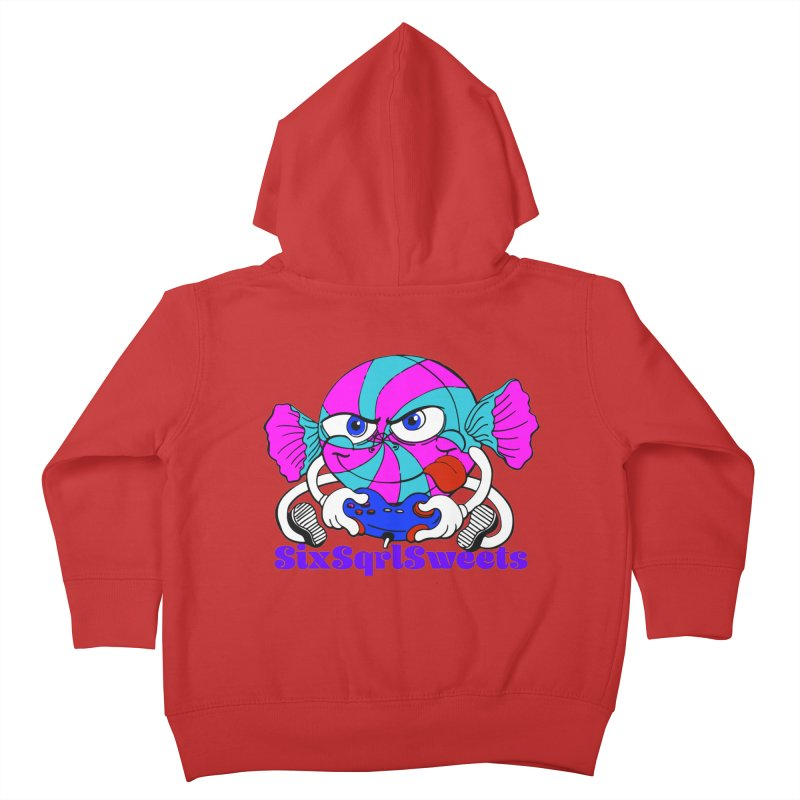 Classic Sweets Logo Kids Toddler Zip-Up Hoody by SixSqrlStore