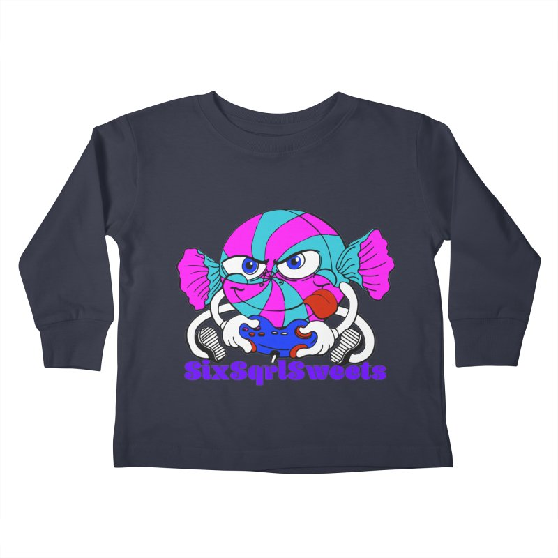 Classic Sweets Logo Kids Toddler Longsleeve T-Shirt by SixSqrlStore