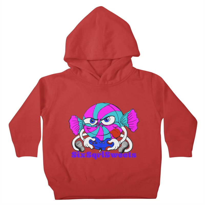 Classic Sweets Logo Kids Toddler Pullover Hoody by SixSqrlStore