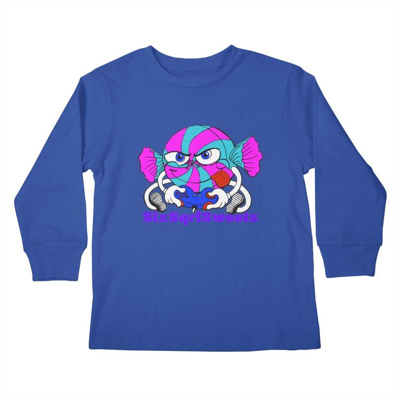 Classic Sweets Logo Kids Longsleeve T-Shirt by SixSqrlStore