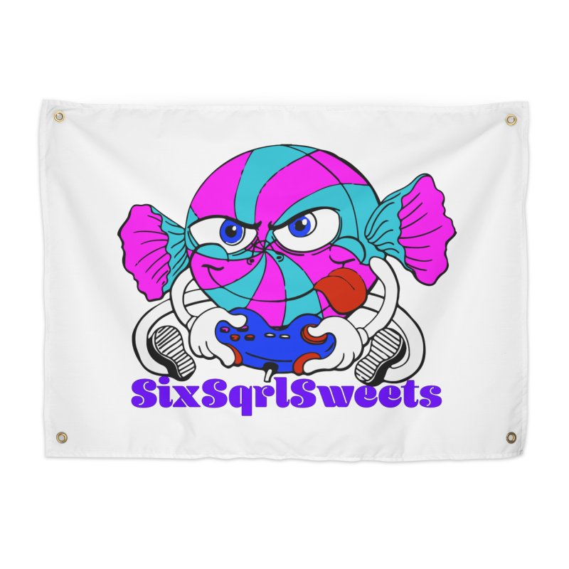 Classic Sweets Logo Home Tapestry by SixSqrlStore