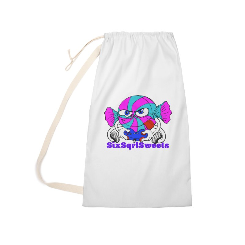 Classic Sweets Logo Accessories Laundry Bag Bag by SixSqrlStore