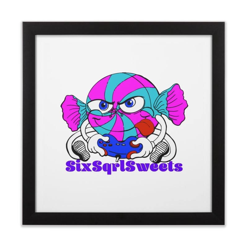 Classic Sweets Logo Home Framed Fine Art Print by SixSqrlStore