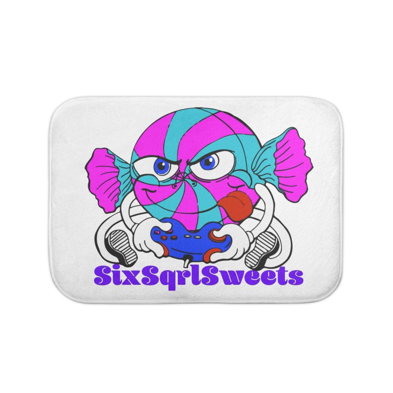 Classic Sweets Logo Home Bath Mat by SixSqrlStore