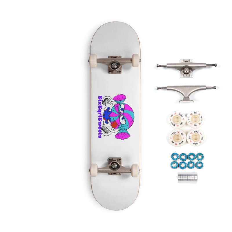 Classic Sweets Logo Accessories Complete - Premium Skateboard by SixSqrlStore