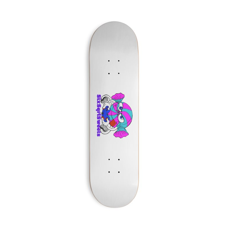 Classic Sweets Logo Accessories Deck Only Skateboard by SixSqrlStore
