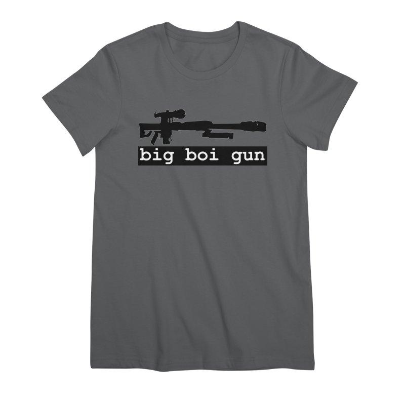 BBG aka Big Boi Gun Women's Premium T-Shirt by SixSqrlStore