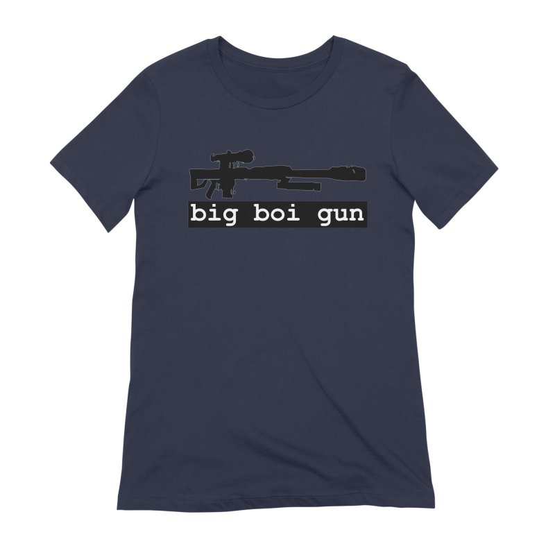 BBG aka Big Boi Gun Women's Extra Soft T-Shirt by SixSqrlStore