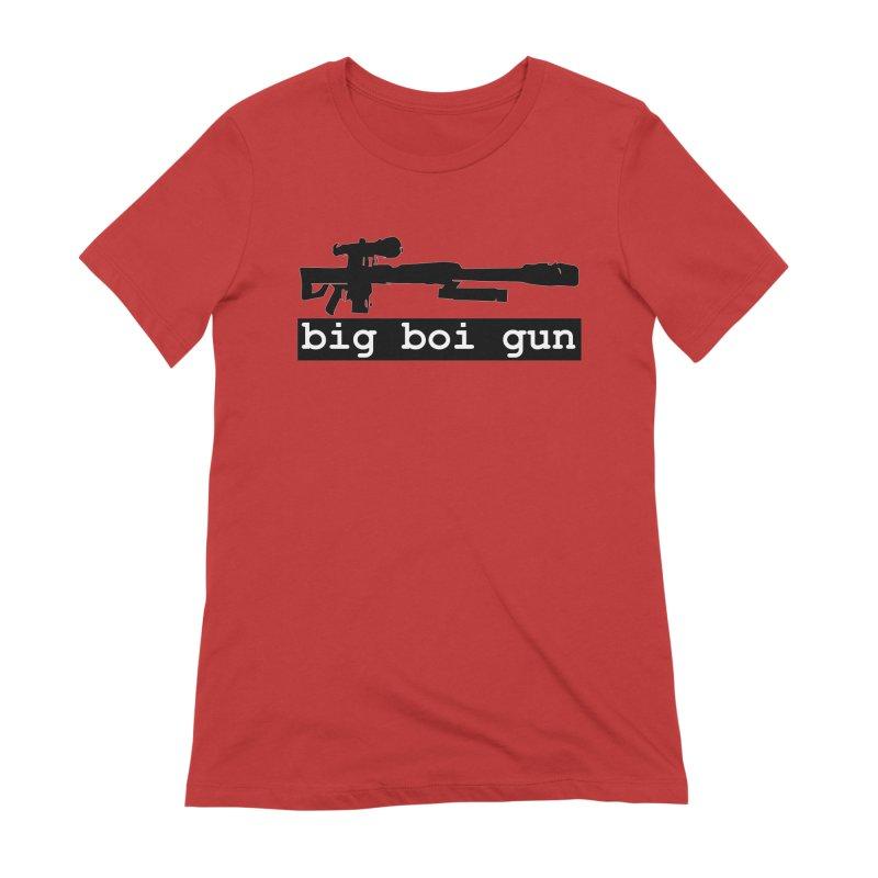 BBG aka Big Boi Gun Women's Extra Soft T-Shirt by SixSqrlStore