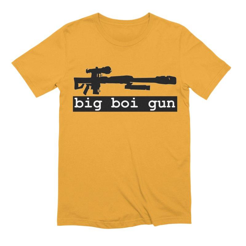 BBG aka Big Boi Gun Men's Extra Soft T-Shirt by SixSqrlStore