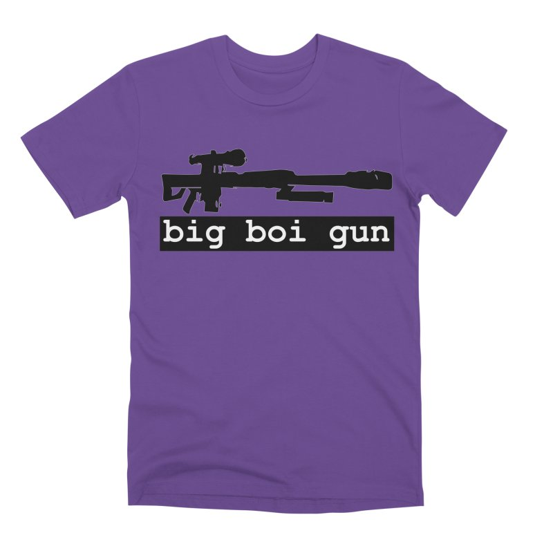 BBG aka Big Boi Gun Men's Premium T-Shirt by SixSqrlStore