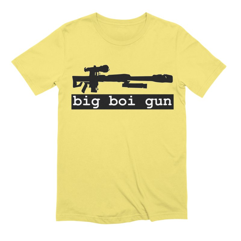 BBG aka Big Boi Gun Men's Extra Soft T-Shirt by SixSqrlStore